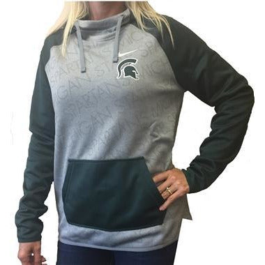Women's Nike Michigan State Spartans Championship Drive Hoody - shop.msu.edu