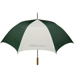 MSU Extension Genuine Wood Handle Golf Umbrella - shop.msu.edu