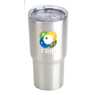 FRIB Stainless Steel Insulated Tumbler - shop.msu.edu