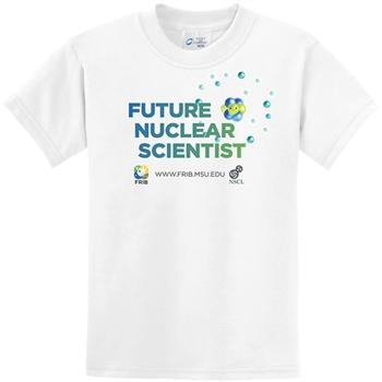 FRIB Future Nuclear Scientist Youth T-shirt - shop.msu.edu