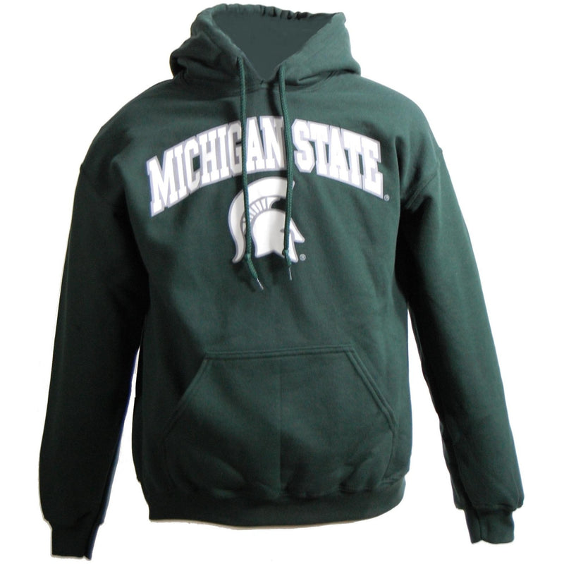 Spartan Helmet Hoody - Green - shop.msu.edu