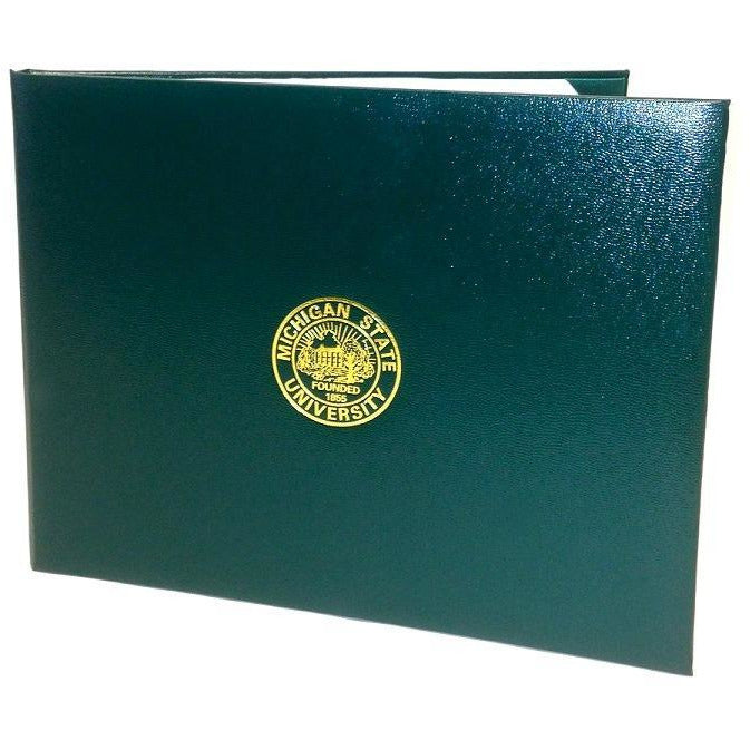 Michigan State Diploma Cover
