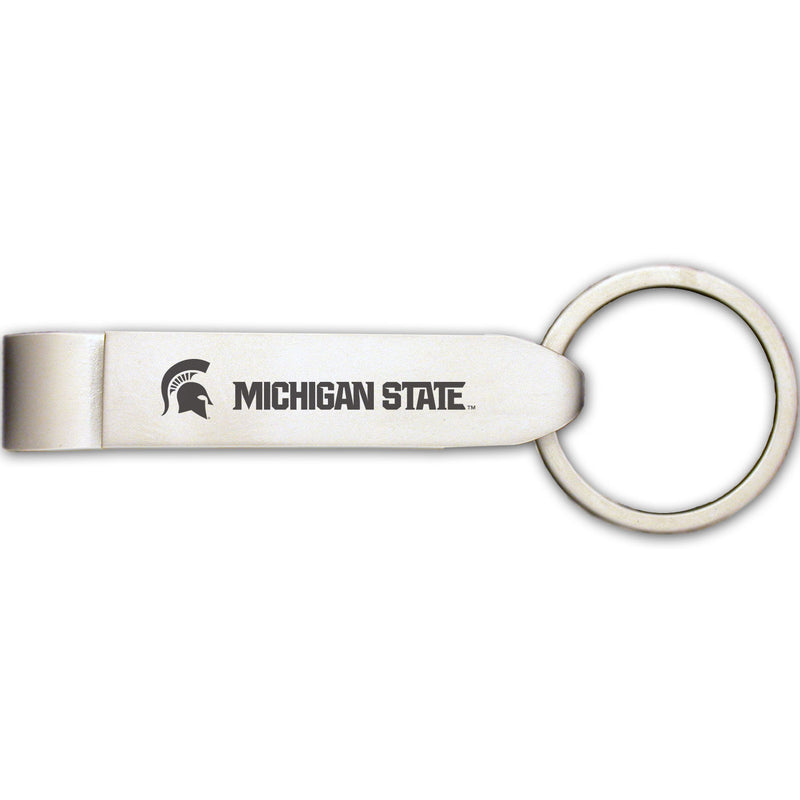Michigan State Classic Bottle Opener Key Tag - shop.msu.edu