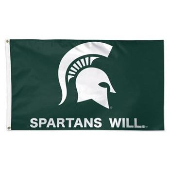 Spartans Will Flag - 3' x 5'
