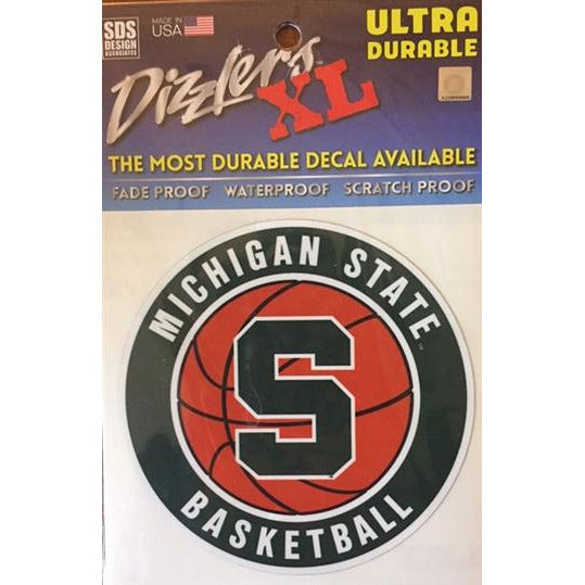 Michigan State Basketball Dizzler Decal