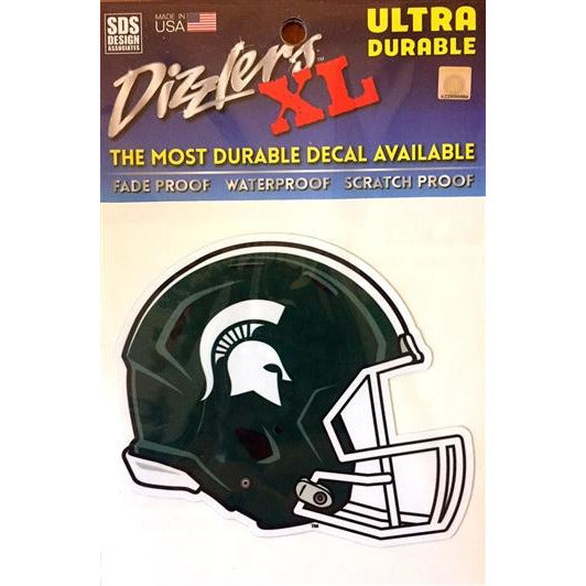 Spartan Football Helmet Dizzler Decal - shop.msu.edu