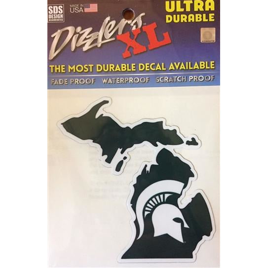 MSU State of Michigan Dizzler Decal - shop.msu.edu