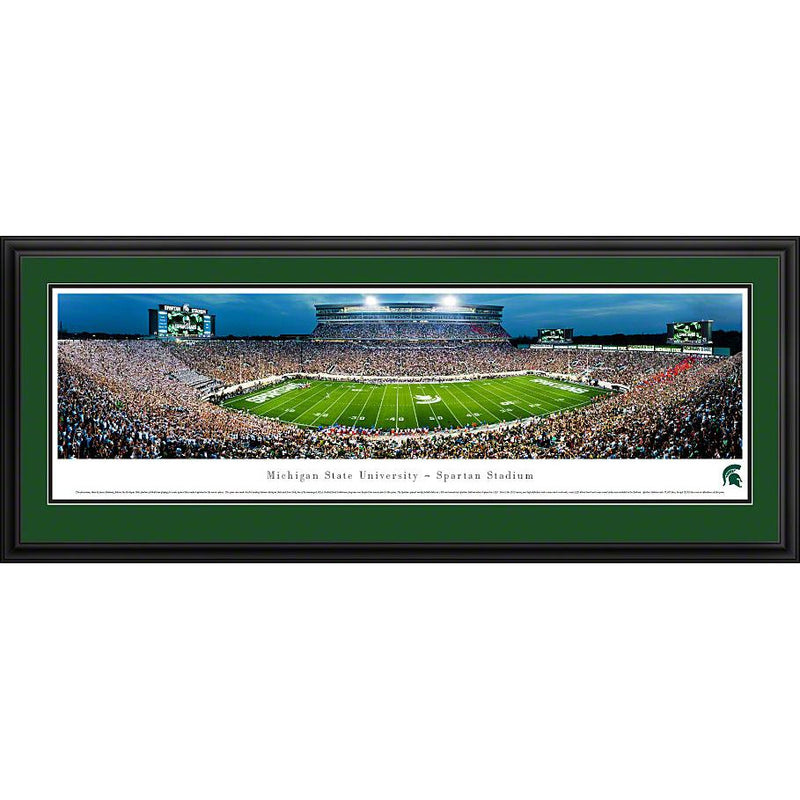 Spartan Stadium 50-Yard Line Panorama - shop.msu.edu