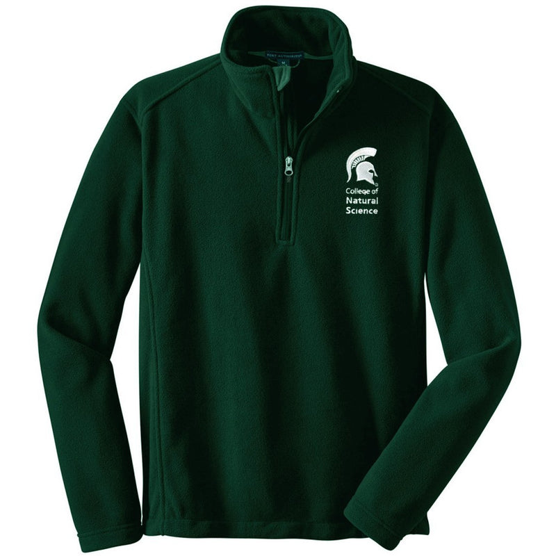 College of Natural Science Fleece Jacket - shop.msu.edu