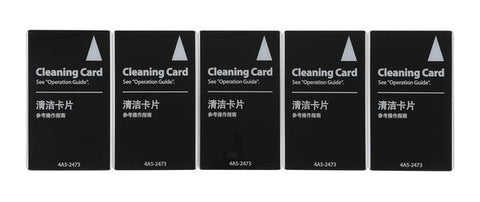 Evolis ACL006 AVANSIA CLEANING KIT, PACK OF 5 ADHESIVE CARDS