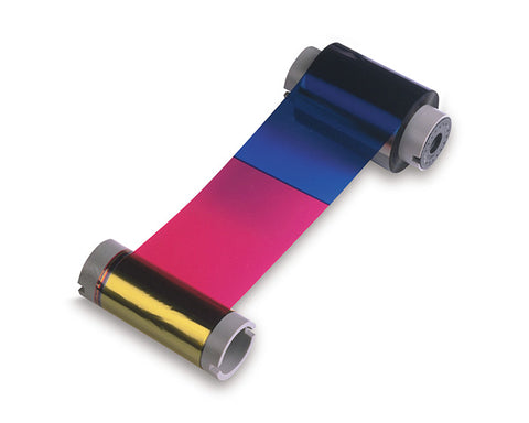 Fargo 086200 YMCKO Color Ribbon For DTC550 Printers