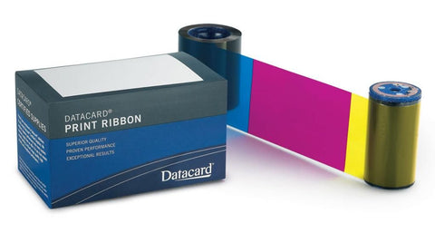 Entrust Datacard YMCKT Color ribbon 500 prints 534700-004-R010