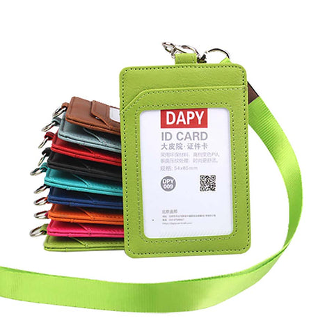 Plain plastic Card card holders, landscape and portrait