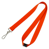 Branded color lanyards