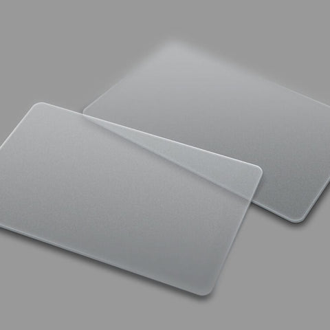 Clear plain Plastic PVC Card
