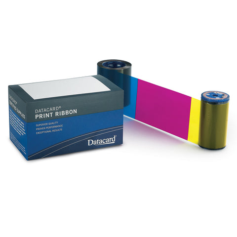 Entrust Datacard 534000-008 YMCK Color ribbon