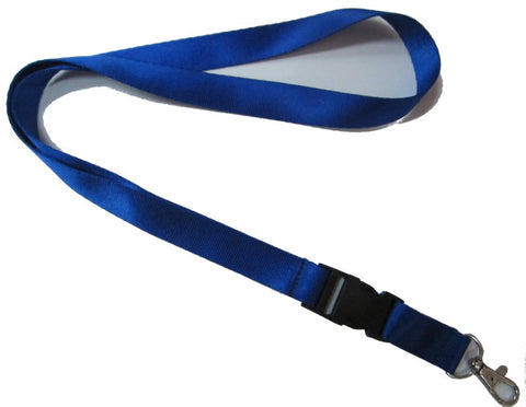 Plain color lanyards