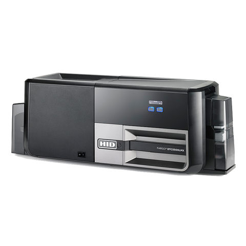 Fargo DTC5500LMX ID Card Printer and Laminator