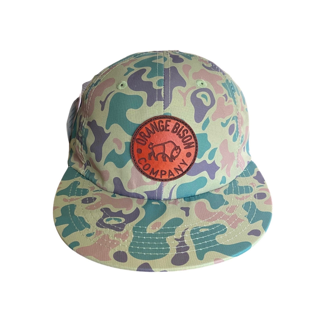 Circle Bison Duck Bill Camo Hat