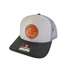 Load image into Gallery viewer, Circle Bison Trucker