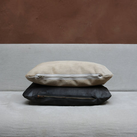 Pillow in Sand Calfskin