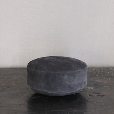 Small box in suede - dark grey