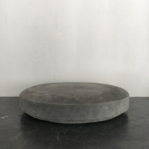 Grey suede box - large