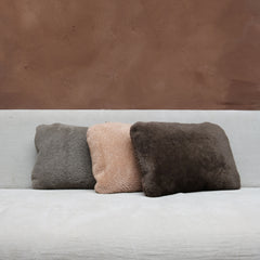 Pillow in Nude Lambskin