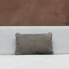 Pillow in Dark Suede - Small