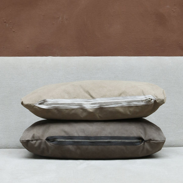 Pillow in Light Suede - Small