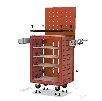 PIG Studio Detail Toolbox Garage FREE AU delivery