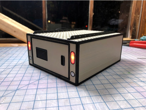 Utility box for RC car and trailer 1/10 scale HOBI Digital Accessories 3D Print - AU stock - Free deliver AU wide