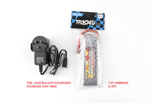 Trasped HGP417 Scale 1/10, RTR, Inc Battery and Charger FREE AU delivery