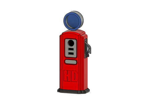Ampol Gas Pump 1/10 scale HOBI Digital Accessories 3D Print - AU stock - Free deliver AU wide