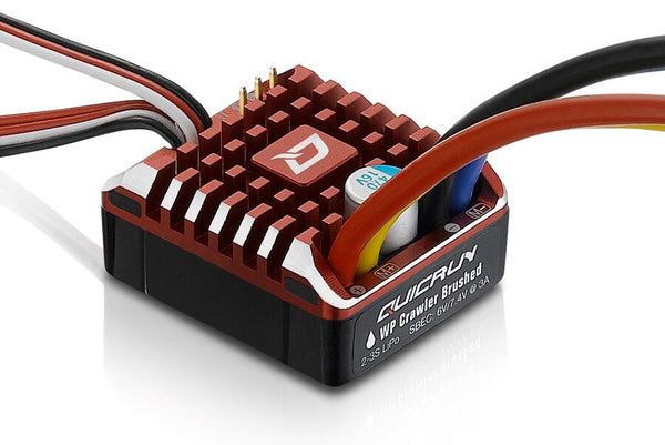 Hobby Wing 1080 - Quicrun WP-CRAWLER brushed 80amp esc FREE AU delivery