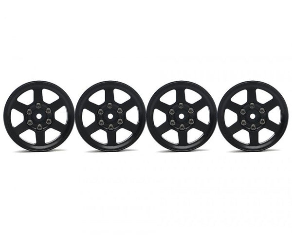 Boom Racing TE37X krait 1.9 Aluminium Beadlock Wheels Black AU Stock Free AU Delivery