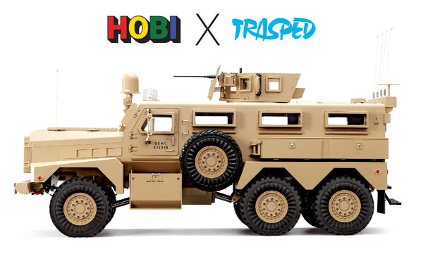 Trasped HG P602 The Cougar MRAP scale 1/10 with Winch, Smoke, Lights and Sound, Inc Battery and Charger FREE AU delivery