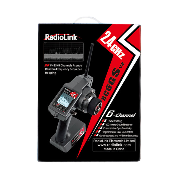 RadioLink RC6GS V2+R6F 2.4GHz 6CH Transmitter & Receiver- AU stock - Free deliver AU wide