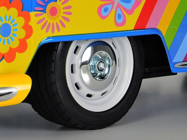 Tamiya 47453 Volkswagen Flower Power 1/10 RC Kit, inc Jerry Can AU Stock Free AU Delivery