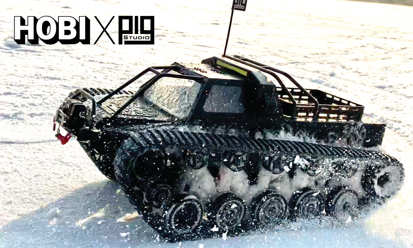 HOBI X PIG Studio Ripsaw Super Tank Scale 1/10 FREE AU delivery