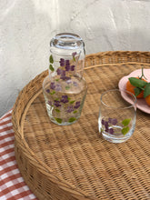 Load image into Gallery viewer, Purple Carafe & Tumblers Set