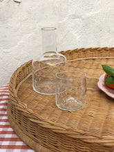 Load image into Gallery viewer, Vintage Carafe & Tumbler Set