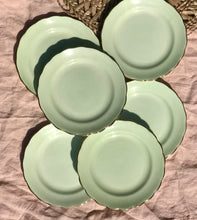 Load image into Gallery viewer, Mint Green Tea Plates