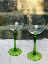 Load image into Gallery viewer, Vintage Cocktail Glasses - set of 2