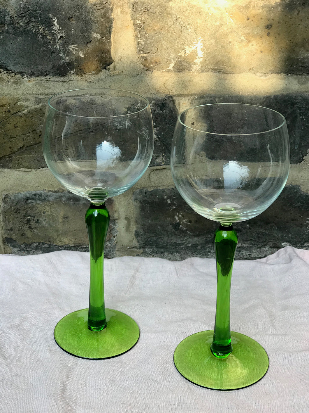 Vintage Cocktail Glasses - set of 2