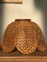 Load image into Gallery viewer, Rattan Scallop Pendant Light Shade