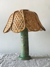 Load image into Gallery viewer, Rattan Petal Light Shade