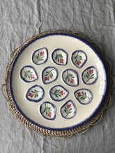 Load image into Gallery viewer, French Vintage Oyster Platter