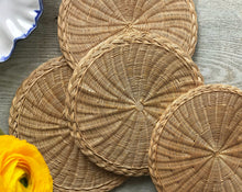 Load image into Gallery viewer, Vintage Rattan Placemats