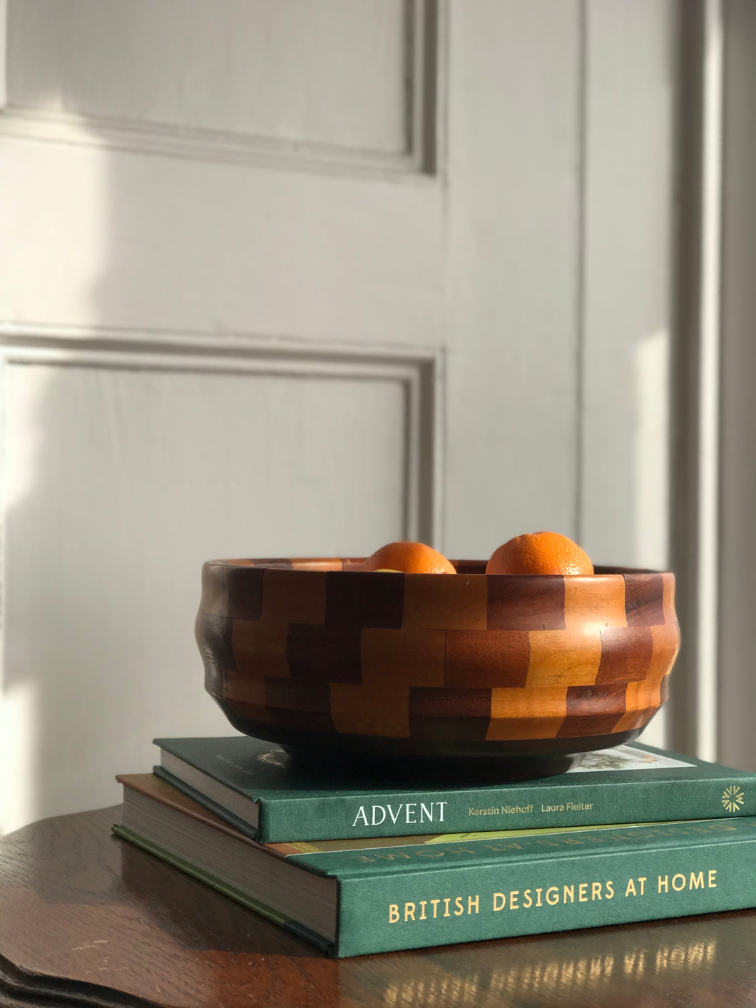 Deep Chequered bowl